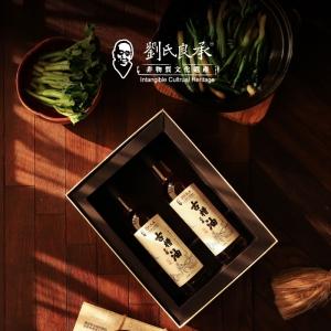刘氏良承 古槽芝麻油 特级初榨礼盒760ml