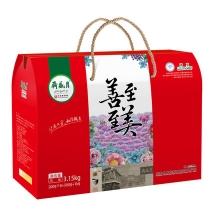 月盛斋清真熟食礼盒 年货礼品 至善至美熟食礼盒(团购)3150g