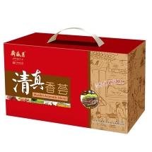 月盛斋清真熟食礼盒 新年礼盒装清 真香荟熟食团购1350g