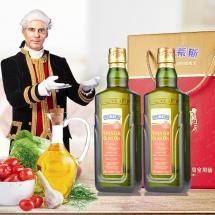 贝蒂斯橄榄油西班牙原装进口橄榄油中秋大礼包礼盒 750ML*2瓶