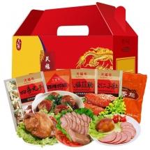 天福号熟食礼盒天福汇萃1550g