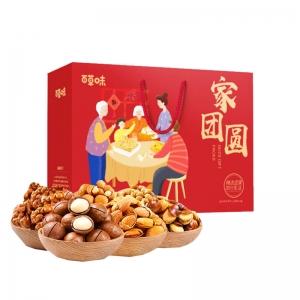 百草味-家团圆礼盒1480g