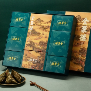 聚福礼盒 粽子礼盒2260g
