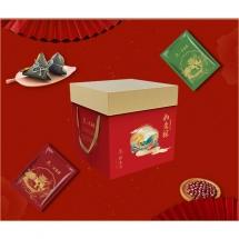 桂香村如意粽子礼盒1400g